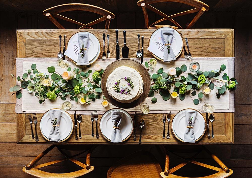 créer une ambiance festive de votre table