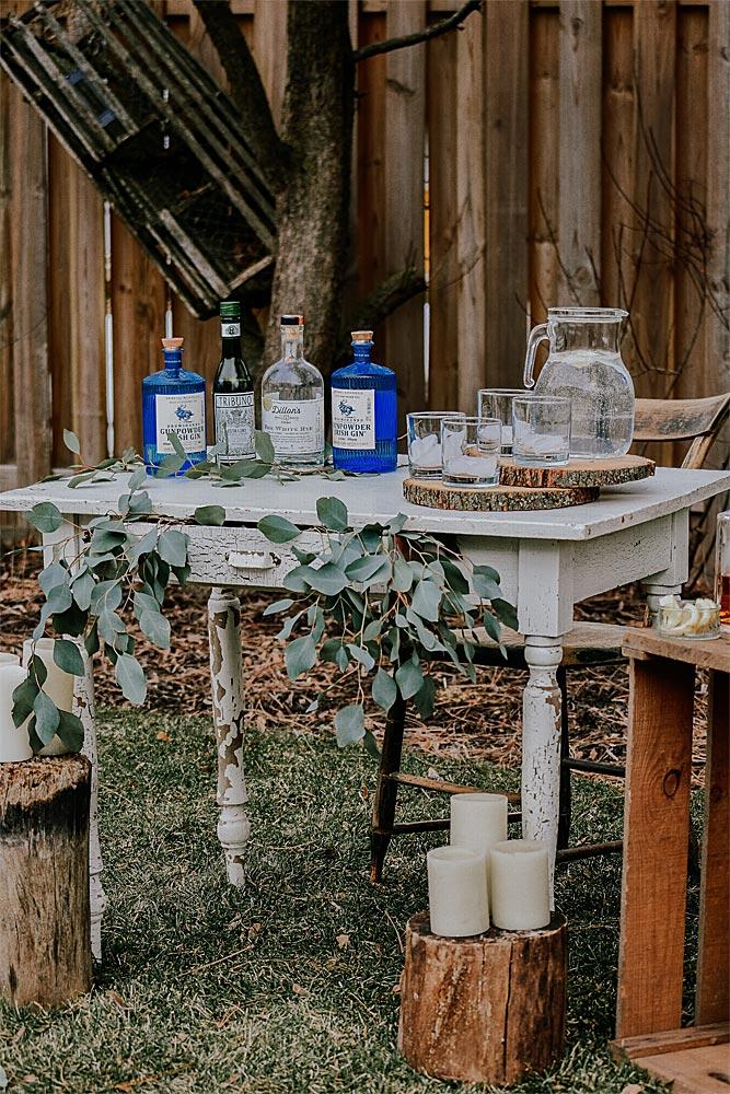 verrines et bocaux pour décoration