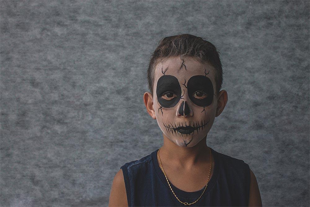 Deguisement Enfant Skull