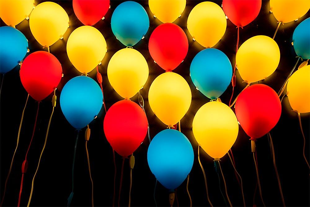 Anniversaire Ballon