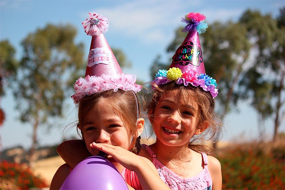 Filles chapeaux