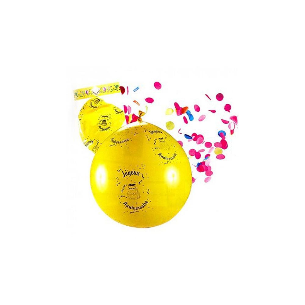 Ballon confettis géant