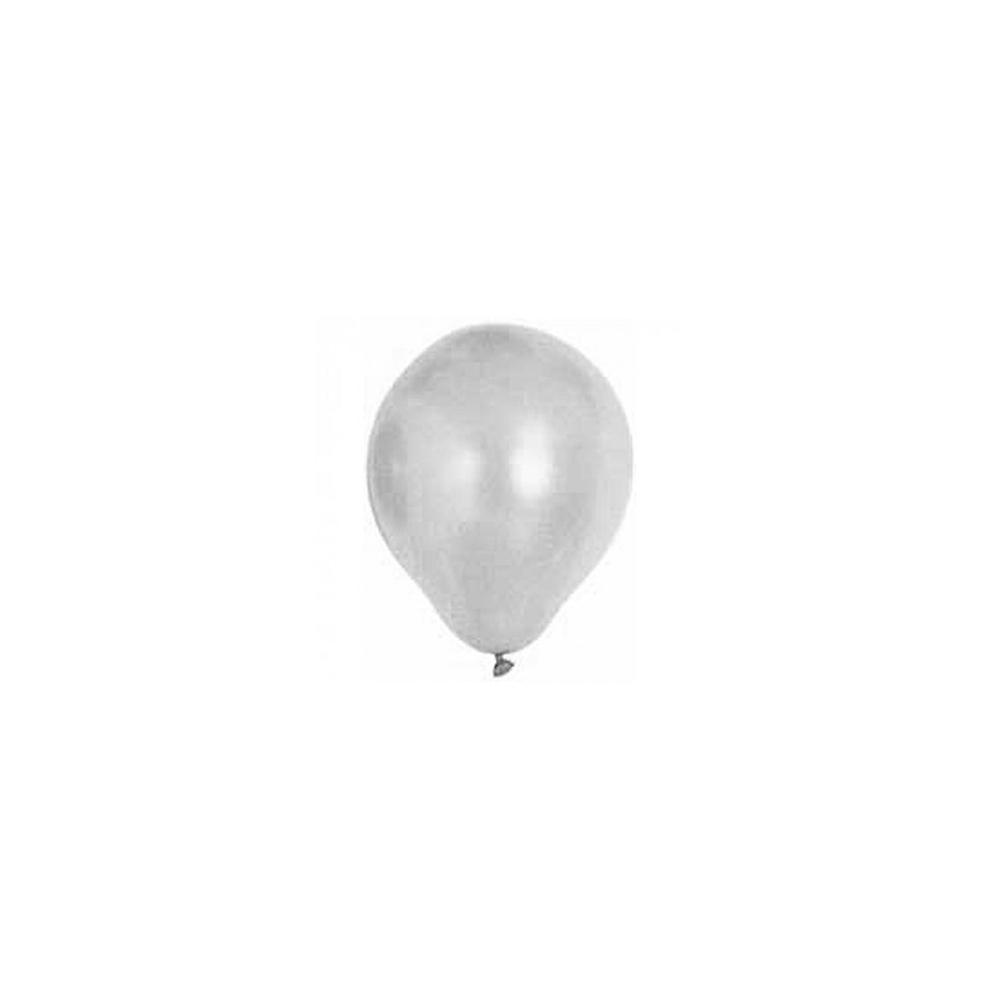Ballon métal gris