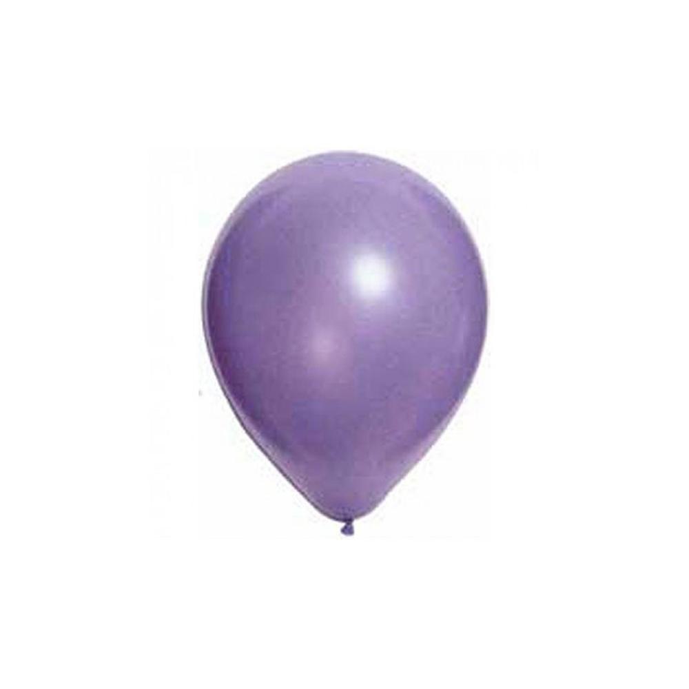 Ballon métal lilas