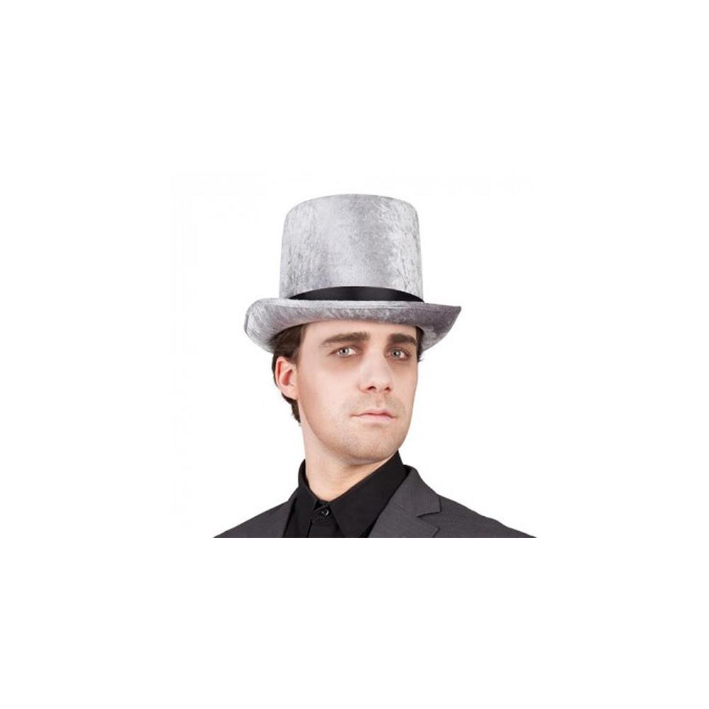 Chapeau haut de forme gris
