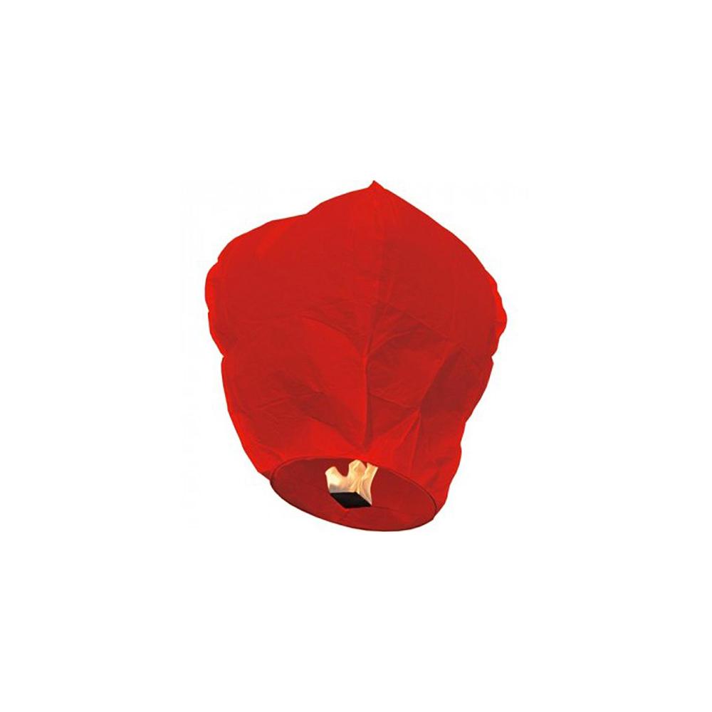 Lanterne céleste rouge