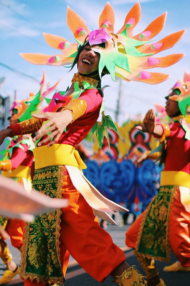 Le déguisement pour les défilés traditionnels
