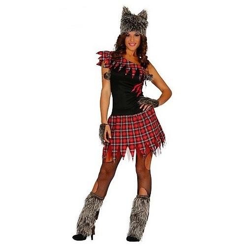 Costume femme loup