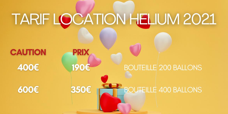 Location bouteille helium lyon